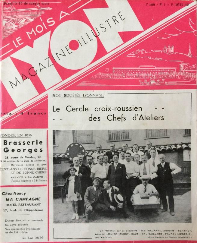 Le Mois à lyon janvier 1939