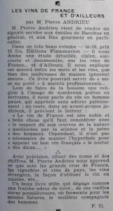 Le Mois à lyon mai 1939 texte Dard