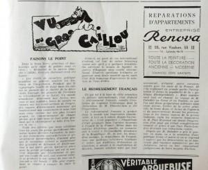 Le Mois à lyon mars 1939 editorial