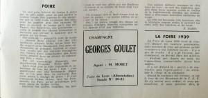 Le Mois à lyon mars 1939 texte dard