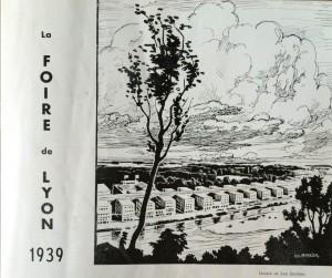 Le Mois à lyon mars 1939 texte dard - et photo foire