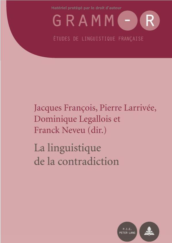 La linguistique de la contradiction