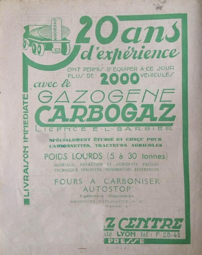 Le Mois à Lyon 15 février 1941 back