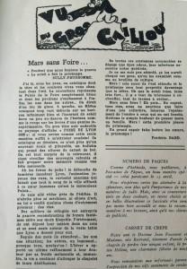 Le Mois à Lyon 15 mars 1941 texte Dard
