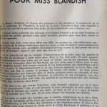 Paris-Théâtre n°47 Pas d'orchidées pour miss blandish (2)
