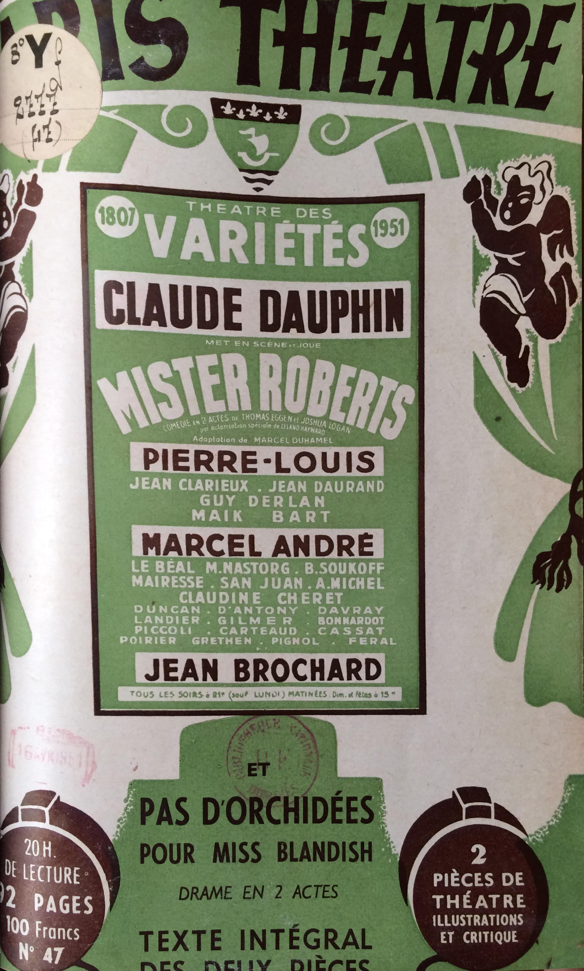 Paris-Théâtre n°47