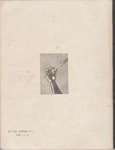 Quai des Orfevres N°1(Verso)