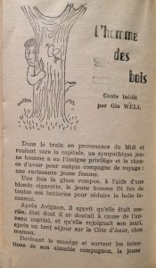 Cent Blagues n°72 texte Gin Well