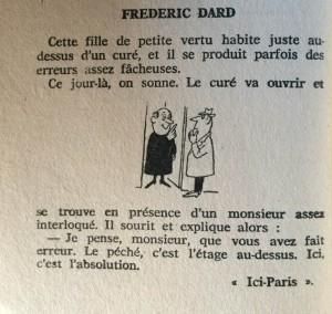 Cent Blagues n°9 série 2. texte Frédéric Dard