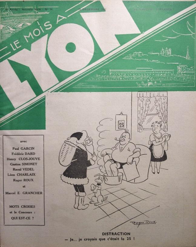 Le Mois à Lyon 15 décembre 1947