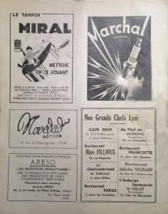 Le Mois à Lyon 15 décembre 1947 back