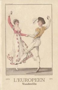 L'européen vaudeville saison 1970-1971