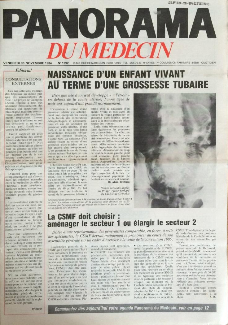 Panorama du médecin n°1992