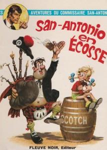 San-Antonio en Ecosse