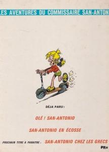 San-Antonio fait un tour back