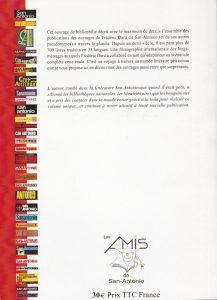 Catalogue éditions étrangères back