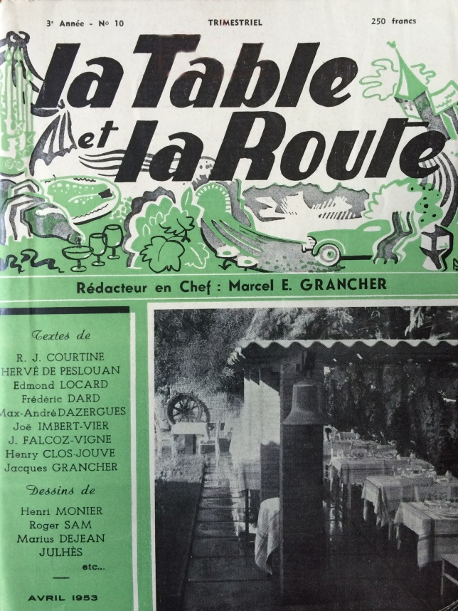 La table et la route n°10