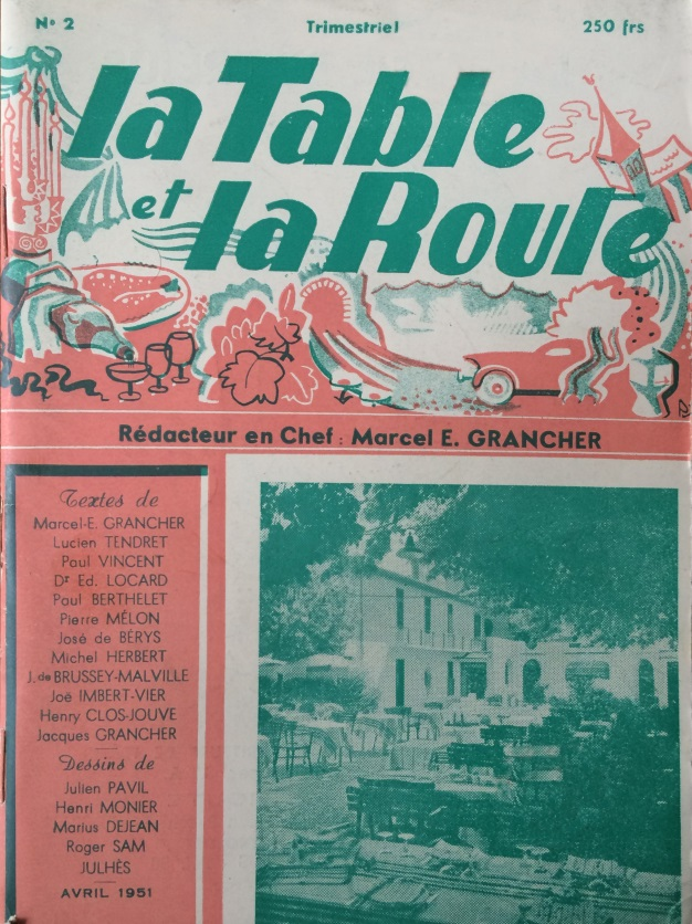 La table et la route n°2