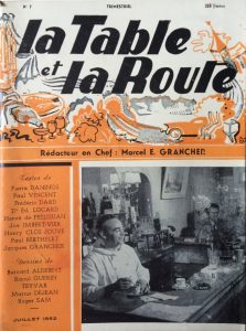 La table et la route n°7