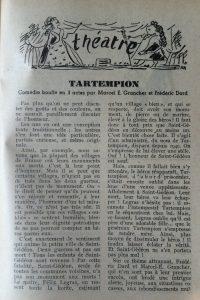 La table et la route n°7 tartempion 1