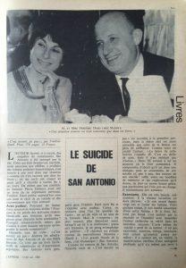 L'express n°839 le suicide de SA