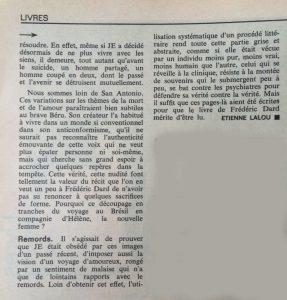 L'express n°839 le suicide de SA suite