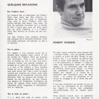 Programme théatre Porte Saint-Martin Pas d'orchidées pour Miss Blandish texte Hossein