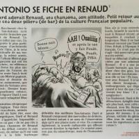 Zoo Culture et BD San-Antonio se fiche en Renaud