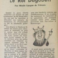 Comique magazine n°3 Le Roi Dagobert 1