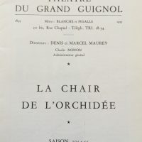 La chair de l'orchidée saison 1954-55