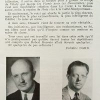 La chair de l'orchidée saison 1954-55 texte Dard sur Hossein fin