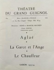 La garce et l'ange saison 1953-54