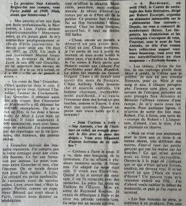 Le Monde n°1917 haut article