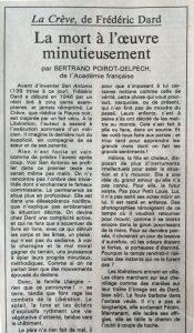 Le Monde n°2124 La creve haut