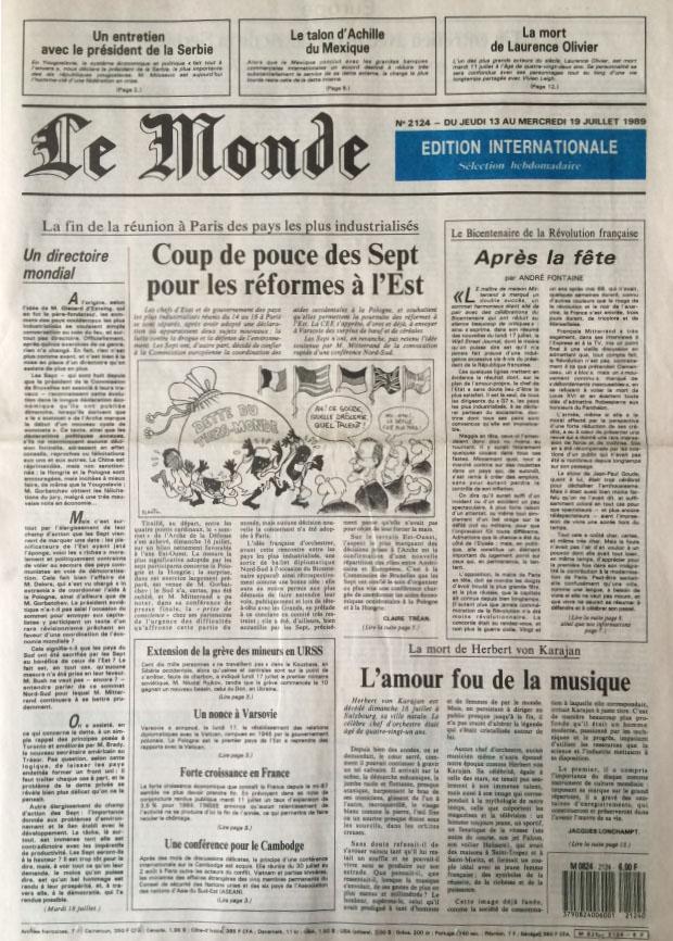 Le Monde sélection hebdomadaire n°2124