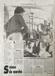 Lyon Figaro 30 août 1990 back