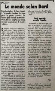 Lyon Figaro 30 août 1990 le monde selon Dard