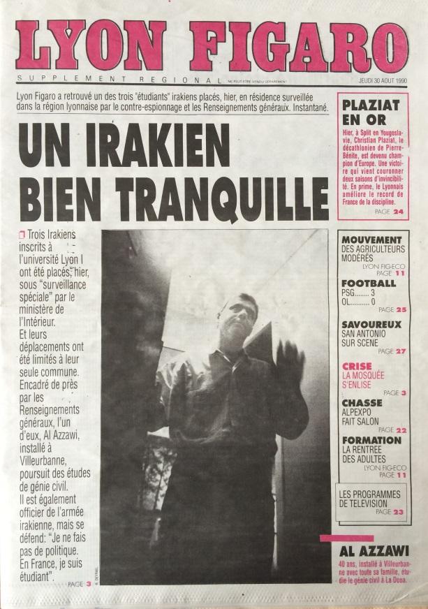 Lyon Figaro 30 août 1990
