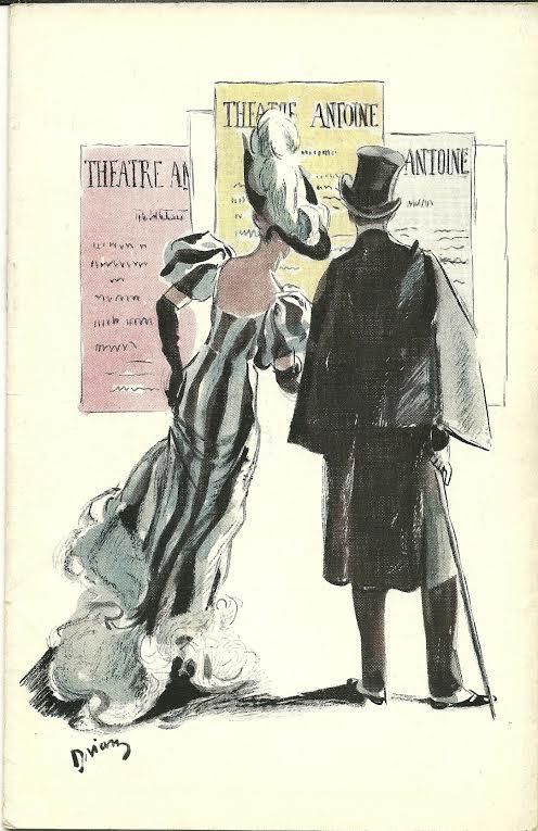 Programme Jésus la caille théâtre Antoine