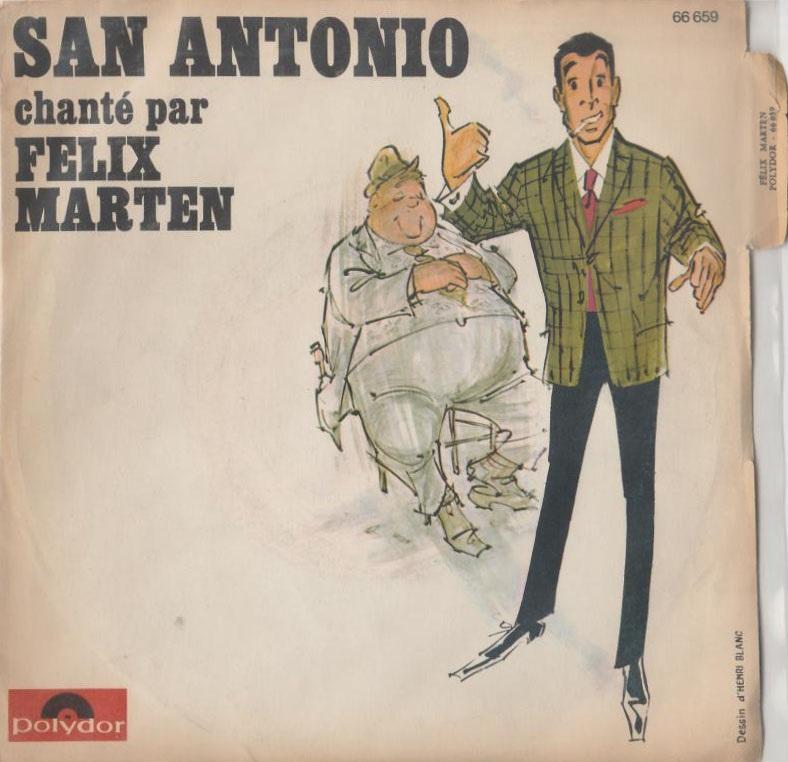 Felix Marten chante San-Antonio