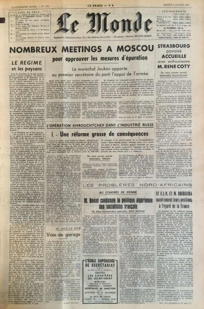Le Monde n°3873