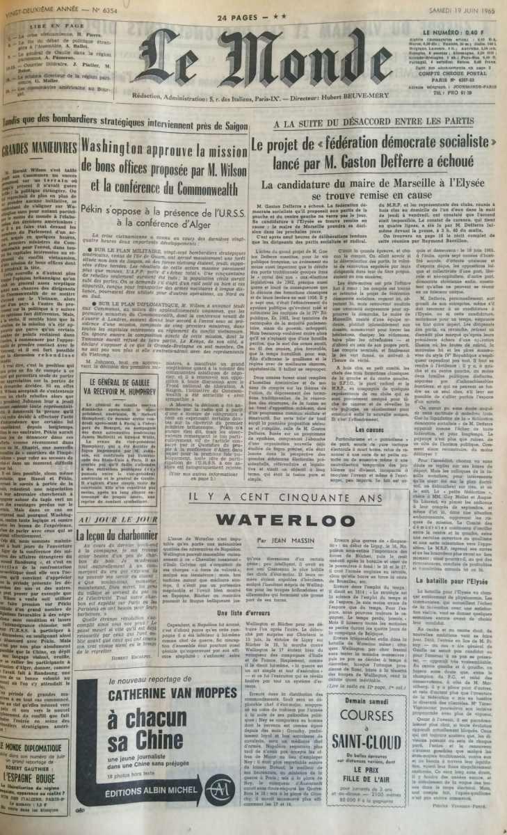Le Monde n°6354