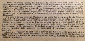 Mystère magazine n°47 montée en régime fleuve noir