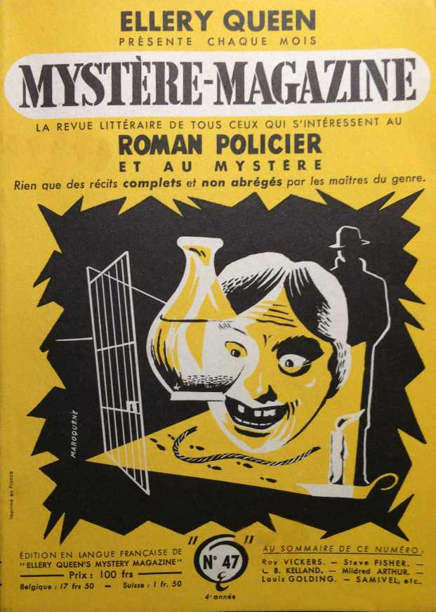 Mystère Magazine n°47