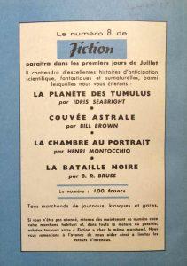 Mystère magazine n°78 back