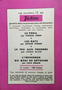Mystère magazine n°82 back