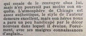 Mystère magazine n°82 bas les pattes fin