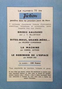 Mystère magazine n°86 back