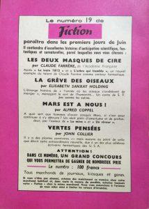 Mystère magazine n°89 back