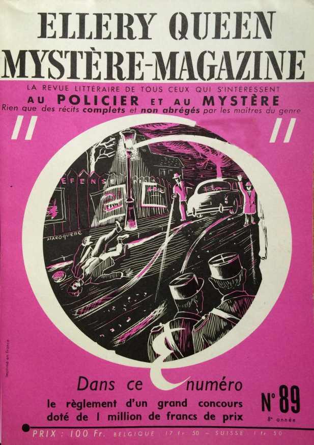 Mystère Magazine n°89